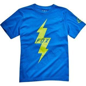 Велофутболка подростковая Fox Youth Pre Mortum SS Tee, синий 2018Велофутболка<br>Высококачественная подростковая футболка от Fox. Модель свободного кроя, выполненная из гладкой плотной ткани и декорированная оригинальным принтом.<br><br><br><br>ОСОБЕННОСТИ<br><br><br><br>Материал: 50% - хлопок, 50% - полиэстер<br><br>С-образный вырез<br><br>Оригинальный принт<br>