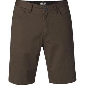 Шорты Fox Blade Short, коричневый 2016Велошорты<br>Традиционные шорты на каждый день от Fox. Модель выполнена из эластичной хлопковой ткани.<br><br><br><br>ОСОБЕННОСТИ<br><br><br><br>Состав: 98% - хлопок, 2% - эластан<br><br>Застёжка на молнии и пуговица с логотипом бренда<br>