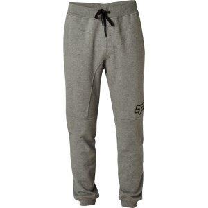Штаны спортивные Fox Rhodes Pant Heather Graphite 2018Велоштаны<br>Классические спортивные штаны от Fox, которые отлично подойдут для любых видов активности и для повседневного ношения. Модель выполнена из плотной хлопковой ткани French Terry и декорирована принтом в виде логотипа бренда.<br><br><br><br>ОСОБЕННОСТИ<br><br><br><br>Материал: 100% - хлопок French Terry<br><br>Принт в виде логотипа бренда<br><br>Регулируемый пояс<br><br>Трикотажные манжеты штанин<br>