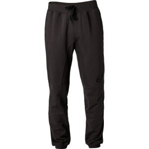 Штаны спортивные Fox Rhodes Pant, черный 2018Велоштаны<br>Классические спортивные штаны от Fox, которые отлично подойдут для любых видов активности и для повседневного ношения. Модель выполнена из плотной хлопковой ткани French Terry и декорирована принтом в виде логотипа бренда.<br><br><br><br>ОСОБЕННОСТИ<br><br><br><br>Материал: 100% - хлопок French Terry<br><br>Принт в виде логотипа бренда<br><br>Регулируемый пояс<br><br>Трикотажные манжеты штанин<br>