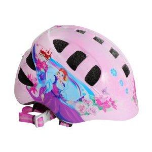 Шлем детский с регулировкой,  размер S(48-52см), розовый, рисунок - принцесса, инд.уп. Vinca SportВелошлемы<br>Шлем детский с регулировкой, инд.уп.Vinca Sport<br>Наличие отверстий создаёт хорошую циркуляцию воздуха.<br>Благодаря липучкам «Velcro» внутренняя подкладка шлема легко снимается и устанавливается на место.<br>Размер: S(48-52см)<br>Рисунок - принцесса,<br>Цвет розовый<br>Индивидуальная упаковка Vinca sport.<br>Характеристики<br>Вес 210г. (S)<br>Количество отверстий 15<br>Материал поликарбонат, пенополистерол<br>Технология out-mold<br>