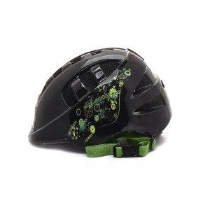 Шлем детский с регулировкой, размер M(52-56см), черный, рисунок - робокоп, инд.уп. Vinca Sport
