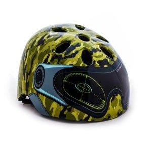Шлем детский с регулировкой, размер M(52-56см), зеленый, инд.уп. Vinca Sport