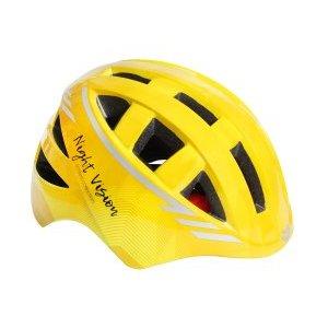 Шлем детский night vision kids с регулировкой, IN-MOLD, S(48-52см), инд.уп. Vinca Sport