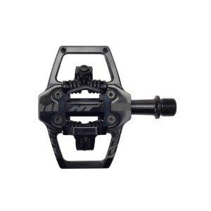 Педали велосипедные HT T1, Stealth черный, T1201301