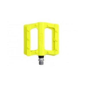 Педали велосипедные HT PA12, неоновый желтый, PA12014102