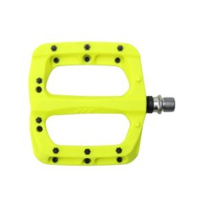 Педали велосипедные HT PA03A, неоновый желтый, PA03A004101