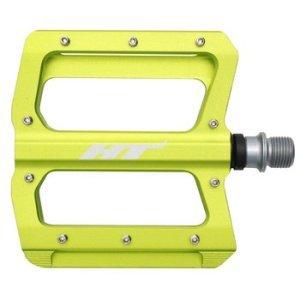 Педали велосипедные HT AN01, Apple Green, AN01109101