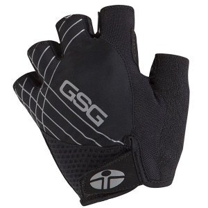 Велоперчатки GSG Lycra Gloves, черный 2018 gusti gsg 3255