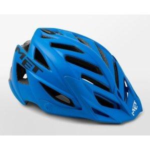 Велошлем Met Terra, сине-черный 2018