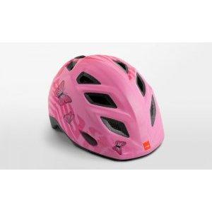 Велошлем детский Met Elfo Pink Butterflies 2018Велошлемы<br>Детские шлемы Met – это не просто уменьшенные копии взрослых моделей. Все они разработаны с учётом особенностей детской анатомии и некоторых специфических требований. Например, затылочная часть сделана почти вертикальной, чтобы ребёнку было удобно сидеть на детском сидении. Elfo – модель для самых маленьких, и её основное отличие от большинства аналогов состоит в том, что шлем ни при каких обстоятельствах не соприкасается с родничковыми костями черепа – самой уязвимой областью детской головы.<br><br><br><br>ОСОБЕННОСТИ<br><br><br><br>Шлем для самых маленьких, созданный с учётом особенностей детской анатомии<br><br>Вертикальная затылочная часть обеспечивает комфорт при поездках на детском сидении<br><br>Светоотражающая наклейка на задней части<br>