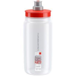 Фляга велосипедная Elite FLY, 550 мл, красный, EL0160446Фляги и Флягодержатели<br>Жесткая, легкая бутылочка для питья марки Elite Model FLY.<br><br>особенности:<br><br>Плотный тип закрытия Corsa<br>Изготовлен из легкого и очень прочного материала полиэтилена<br>Биоразлагаемые<br><br>Емкость: 550 мл<br>