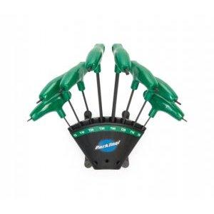 Набор ключей Torx с подвесом, Т-образные рукоятки, размеры T6/T8/T10/T15/T20/T25/T30/T40, PTLPH-T1.2 набор ключей торкс park tool в подвесе t9 10 15 20 25 27 30 40 ptltws 1