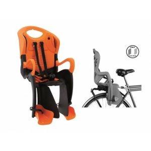 BELLELLI Сидение заднее Tiger Clamp, чёрно-оранжевое с оранжевой вставкой, до 22кгДетское велокресло<br>Сидение заднее Tiger Clamp, чёрно-оранжевое с оранжевой вставкой<br>Это кресло крепится на уже установленный задний багажник велосипеда (грузоподъемность багажника не менее 25 кг., ширина 12-17,5 см.) с колесами 26-28<br>Подходит к большинству типов велосипедов.<br>Имеет лёгкосъёмный механизм. С мягкой прокладкой, ремнями безопасности и защитой ног от попадания в спицы.<br>Сама форма сидения обезопасит ребёнка от боковых ударов.<br>По мере роста ребенка Вы сможете увеличить высоту кресла.<br>Пятиточечные регулируемые ремни безопасности. (высота-длина-глубина)<br>Присутствие элементов защиты - обязательно для вело кресел марки BELLELLI. <br>Имеет Европейский сертификат качества TUV.<br>Производитель: BELLELLI<br>Установка: Заднее<br>Группа: до 7 лет, максимальный вес 22 кг<br>