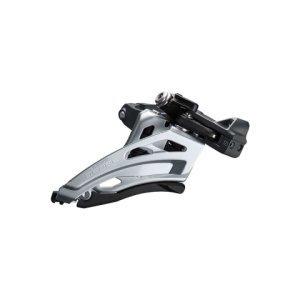 Переключатель передний Shimano Deore FD-M6020-M, для привода 2x10 скоростей, IFDM6020MX6Переключатели скоростей на велосипед<br>Переключатель передний Shimano Deore FD-M6020-M, для привода 2x10 скоростей, хомут 34.9 с адаптерами 28.6 и 31.8 мм, side-swing.<br>