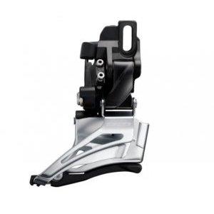 Переключатель передний Shimano Deore FD-M6025-D, direct mount, верхний хомут, 2X10, IFDM6025D6