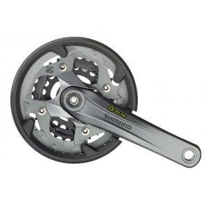 Система Shimano Alivio FC-M4000, стандарт Octalink, для привода 9 скоростей, 175 мм, EFCM4000E002C