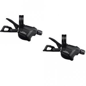 Шифтеры Shimano Deore M6000, левый и правый, для привода 2/3x10 ск, трос 1800/ 2050 мм, ISLM6000PA запчасть shimano nexus 3s35e 3 ск 1600 мм
