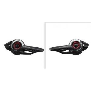 Шифтеры Shimano Tourney SL-TZ500, левый и правый, для привода 3x6 скоростей, ESLTZ5006PA шифтер тормозная ручка shimano tourney tx800 правый 8 скорости трос 2050 мм черный asttx800r8a