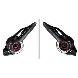 Шифтеры Shimano Tourney SL-TZ500, левый и правый, для привода 3x7 скоростей, ESLTZ5007PA шифтер тормозная ручка shimano tourney tx800 правый 8 скорости трос 2050 мм черный asttx800r8a