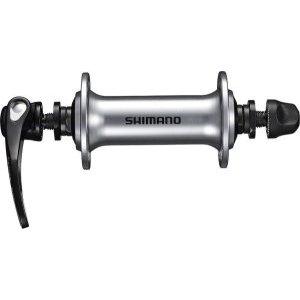 Втулка передняя Shimano HB-RS400, 32 отверстия, эксцентрик QR 133 мм, цвет серебро, EHBRS400BS втулка передняя ride trail qr 32h 100 мм черный rft32100bk