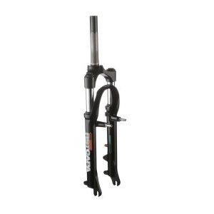 Вилка амортизационная для велосипеда RST Capa Т 26х1 пружинно-эластомерная 80мм V+D 1-0020