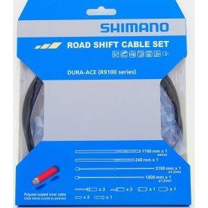 Трос+оплетка переключателя SHIMANO Dura-Ace, R9100, тр:1.2X2100мм/1800мм, Y0BM98010
