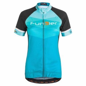 Велофутболка Funkier JW799, женская, бирюзовый, 15-310