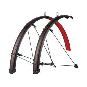 Крылья велосипедные SKS Bluemels STINGRAY 45 мм, 28, красные, 11432