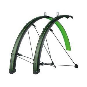 Крылья велосипедные SKS Bluemels STINGRAY, 45 мм, 28, зелёные, 11435