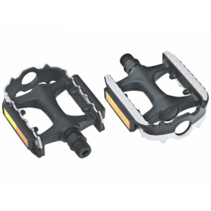 Педали COMBI, MTB/Cross/Trekking/City, пластик с металлическими вкладками, 101х82мм, 215г