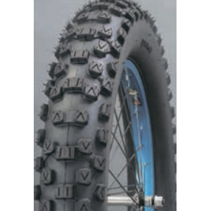 Покрышка велосипедная EXCEL MK9006, 20х4,0, черный, MK9006