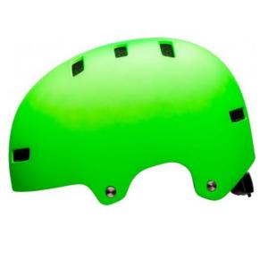 Шлем велосипедный Bell 18 LOCAL BMX, универсальный, зеленый удилище матчевое штекерное волжанка бомбардир 4 5м 3 секции тест 20 50гр
