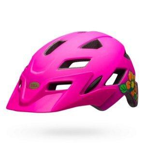 Шлем подростковый Bell 17 SIDETRACK MIPS, матовый розовый цветок mymei outdoor 90db ring alarm loud horn aluminum bicycle bike safety handlebar bell