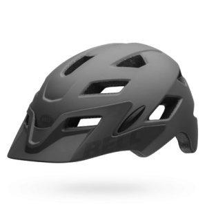 Шлем подростковый Bell 17 SIDETRACK MIPS, матовый серый/акула mymei outdoor 90db ring alarm loud horn aluminum bicycle bike safety handlebar bell