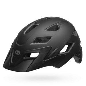 Шлем подростковый Bell 18 SIDETRACK , матовый черно-серебряный mymei outdoor 90db ring alarm loud horn aluminum bicycle bike safety handlebar bell