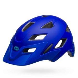 Шлем подростковый Bell 18 SIDETRACK, матовый сине-голубой mymei outdoor 90db ring alarm loud horn aluminum bicycle bike safety handlebar bell