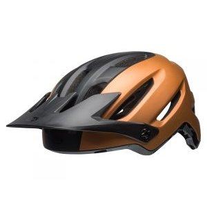 Шлем велосипедный Bell 18 4FORTY MTB, универсальный, матовый медно-черый mymei outdoor 90db ring alarm loud horn aluminum bicycle bike safety handlebar bell