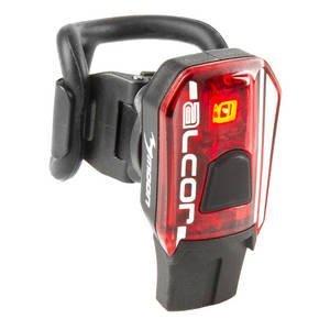 Фонарь MOON Alcor 1SMD задний, повышенной яркости, USB-заряд, Li-Pol АКБ 250МАh, красный 5-220460