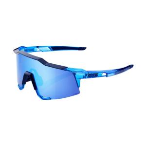 Велоочки 100% Speedcraft Polished Translucent Crystal Blue / HiPER Blue, 61001-122-75