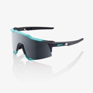 Велоочки 100% Speedcraft Soft Tact Celeste Green / Cement Grey / Black Mirror, 61001-256-61