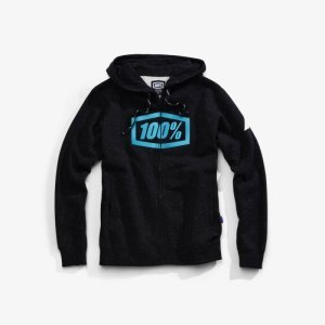 Толстовка 100% Syndicate Zip Hooded Sweatshirt Hyperloop 2018