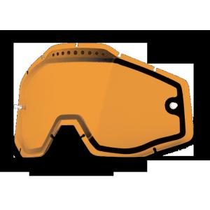 Линза 100% Racecraft/Accuri/Strata Vented Dual Pane Lens Anti-Fog Persimmon, 51006-046-02