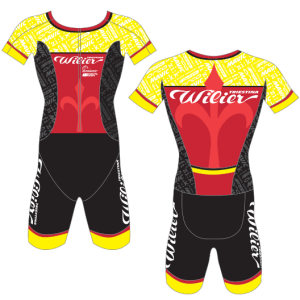 Велокомбинезон для триатлона Biemme Wilier Team, RB91B0106M, 2019