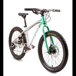 "Велосипед детский Early Rider Trail 20"" Cyan/Brushed Al, 2018"