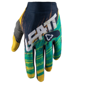 Велоперчатки Leatt GPX 1.5 GripR Glove Gold/Teal 2019