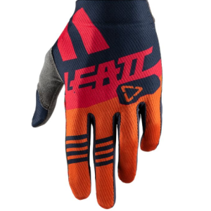 Велоперчатки Leatt GPX 1.5 GripR Glove Ink/Orange 2019