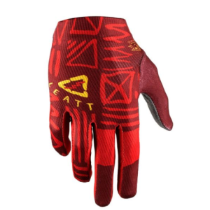 Велоперчатки Leatt DBX 1.0 GripR Glove Ruby 2019