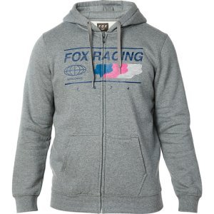 Толстовка Fox Global Zip Fleece Heather Graphite 2019