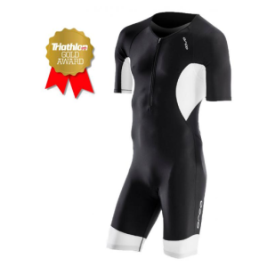 Велокомбинезон Orca Core Short Sleeve Race Suit 2017, цвет: черный/белый, GVC6